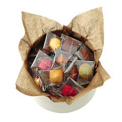 かわいらしいひと口サイズが人気の焼き菓子。マドレーヌ、キャラメル・ブール・サレ、フランボ...