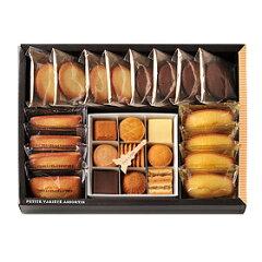 かわいらしいひと口サイズが人気の9種類のクッキーと定番のフィナンシェ、マドレーヌに、バター...