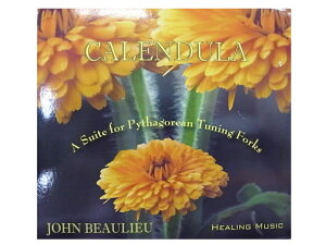 サウンドヒーリングCD「カレンデュラ/Calendula」 アメリカBIOSONICS社正規品…