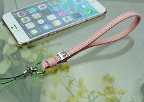 牛革/携帯ストラップイニシャル自社工場直販特別価格革日本製