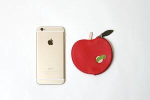 【ゆうパケット対応】mywalitカーフレザーフルーツコインケースアップルリンゴパースMY91625箱付マイウォリットマイウォレットレディースギフトプレゼント