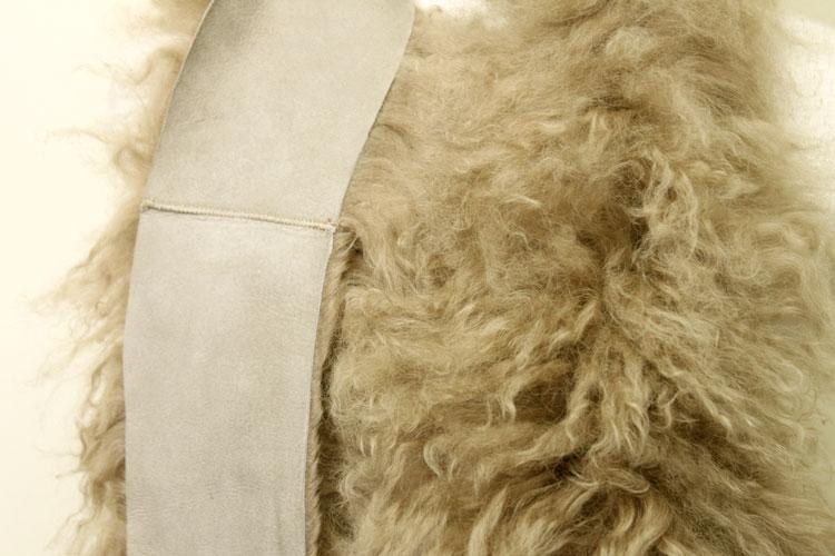 ユニセックス メンズ ファーマフラー ファー 母の日 ギフト シープ プレゼント マフラー 大きいサイズ ラム ストール Wフェイス ロングマフラー レディース ムートン