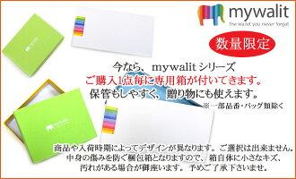 mywalitカーフレザーフルーツコインケースプラムパースMY92129箱付マイウォリットマイウォレットレディースギフトプレゼント