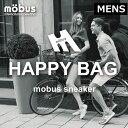 ★福袋2021★MOBUS HAPPY BAG 2足入り+ブランドグッズ セット mobus(モーブス)スニーカー【メン