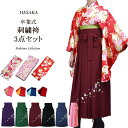 卒業式 袴セット 女性レディース二尺袖着物刺繍袴セット【卒業...