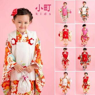 Kabukichō 3-year-old girl kimono flower Princess 被布 set