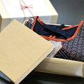 ギフト和柄日本製割烹着木箱入り/4タイプメイン画像