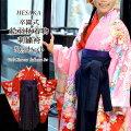 卒園式着物セット四つ身絵羽柄四つ身着物・袴トータルフルセット/メイン画像