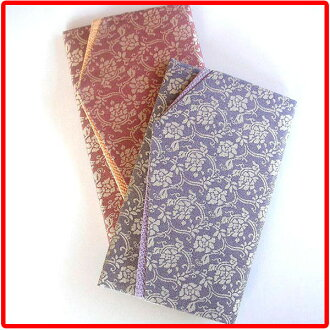 10% Off silk bags and gifts a great bags-wipe [condolence for weddings and ceremonial occasions of silk's famous crack money sealed wipe is ( fukusa ) bags / made in Japan