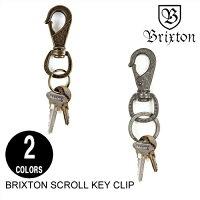 BRIXTONブリクストンSCROLLKEYCLIP【2色】キーホルダーアクセサリーストリートスケートメンズ[セ]