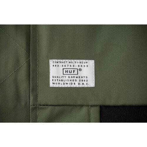 HUF ハフ STANDARD ISSUE MA-1 JACKET (REVERSIBLE) 【2色】 S-L ジャケット