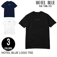 HOTELBLUEホテルブルーLOGOS/STEE【3色】S-L半袖Tシャツ[セ]