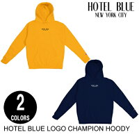 HOTELBLUEホテルブルーLOGOCHAMPIONHOODY【2色】S-Lパーカー[セ]
