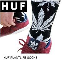 HUFハフPLANTLIFESOCKS全20色スケート・メンズ・靴下・ソックス人気上昇中!ビビットカラー[セール除外品]
