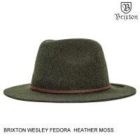 BRIXTONブリクストンWESLEYFEDORA【7色】S-L帽子[セ]