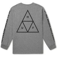 HUFハフTRIPLETRIANGLEL/STEE【2色】M-XXL日本代理店正規品長袖Tシャツ[セ]