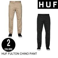 HUFハフFULTONCHINOPANT【7色】チノパン・スラックス・ワークパンツ・スケート[セール除外品]