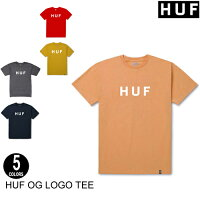 HUFハフOGLOGOTEE【6色】ストリート・スケート・メンズ・グラフィック・半袖Tシャツ[セ]