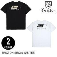 BRIXTONブリクストンSEGALS/STEE【2色】S-XL半袖Tシャツ[セ]