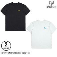 BRIXTONブリクストンPOTREROS/SPREMIUMTEE【2色】S-XXL半袖Tシャツ[セ]