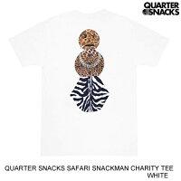 QUARTERSNACKSクウォータースナックスSAFARISNACKMANCHARITYTEE【2色】S-XL半袖Tシャツ[セ]