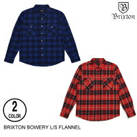BRIXTONブリクストンBOWERYL/SFLANNEL【6色】XS-XLフランネルシャツ[セ]