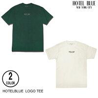 HOTELBLUEホテルブルーLOGOTEE【2色】M-XXL半袖Tシャツ[セ]