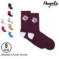 MAGENTAマジェンタPLANTSOCKS【13色】靴下[セ]
