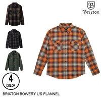 BRIXTONブリクストンBOWERYL/SFLANNEL【4色】S-XXLフランネルシャツ[セ]