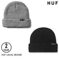 HUFハフUSUALBEANIE【3色】日本代理店正規品ニット帽[セ]
