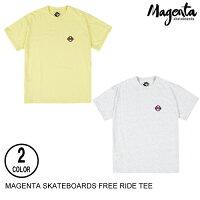 MAGENTASKATEBOARDSマジェンタFREERIDETEE【2色】M半袖Tシャツ[セ]