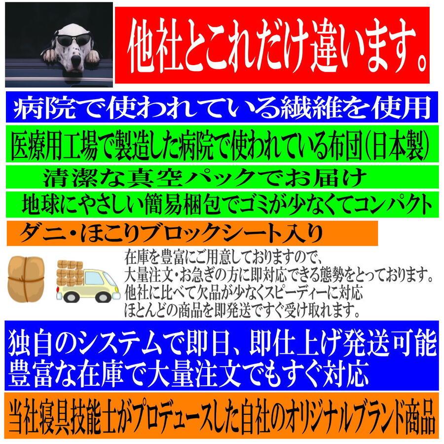 クーポンキャンペーン/二段・シングルベッド用布団セット シングル 日本製 病院採用 抗菌から制菌に・アレルギーの方 ドクターEsウォッシュ組布団セット 寝具セット/新生活