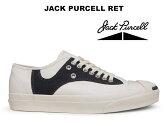 コンバース ジャックパーセル RET ホワイト/ブラック