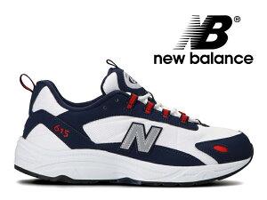 【48%OFF】NEW BALANCE ML615 NNR NAVY/RED ニューバランス レディース メンズ スニーカー ネイビー/レッド ホワイト 紺 赤 白 (801)【国内正規品】
