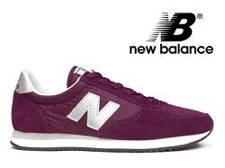NEWBALANCEU220FBニューバランスレディースメンズスニーカーパープル紫【国内正規品】