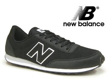 【残り28.0 28.5 29.0センチ】NEW BALANCE U410 KWG ニューバランス スニーカー レディース メンズ ブラック レザー 黒【国内正規品】