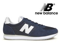 NEWBALANCEU220NVニューバランスレディースメンズスニーカーブルー(ネイビー)紺【国内正規品】