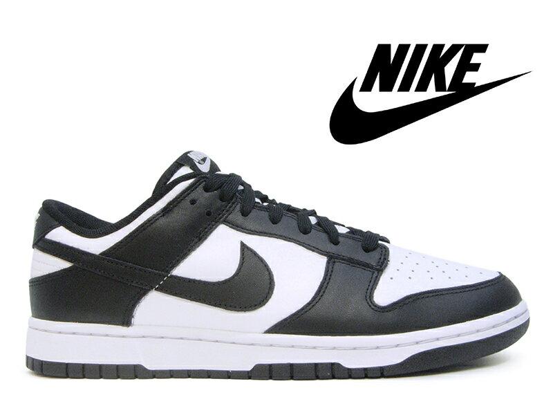 メンズ靴, スニーカー  -NIKE DUNK LOW RETRO WHITEBLACK-WHITE