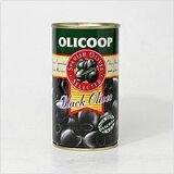 スペイン・オリコープ社製ブラックオリーブ(種無し)【常温/全温度帯可】【D+0】