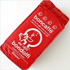 イタリア/ボンドルフィー社(boncaffe bondolfi)ロッソ(コーヒー粉)【250g】【常温/全温度帯...
