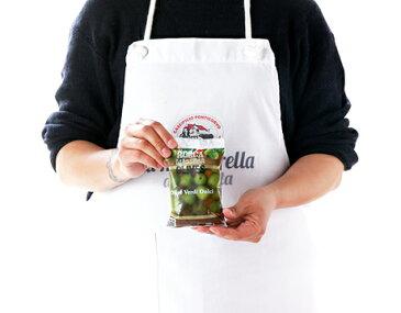 シチリア産/ ラロッカ:フレッシュグリーンオリーブ【100g×2個セット】【land】【冷蔵/冷凍可】【D+0】