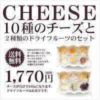 チーズ 詰め合わせ セット チーズ10種とドライフルーツのプレミアムアソート 職人切りたてを直送 ギフト プレゼント【冷蔵/冷凍可】