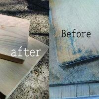 木のまな板の削り直し