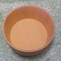青森ヒバ湯桶(タガを銅巻きに変更の場合は必ず選択肢をお選びください)