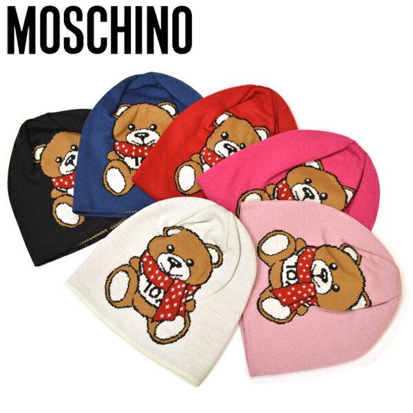 レディース帽子, ニット帽  MOSCHINO emo20w201 M2334 65223 6