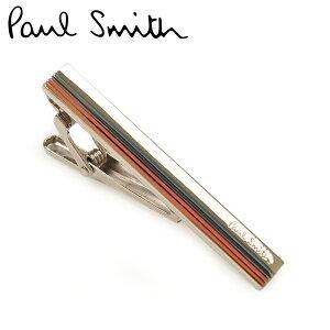 ネクタイタイピン ポールスミス Paul Smith メンズ タイバー/タイクリップ eps20w202 M1A TPIN EBEVEL MEN TIEPIN STRIPE 96 シルバーマルチ