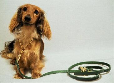 ハーフチョーク 小型犬用 リードセット 1cm幅