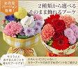 【日比谷花壇】敬老の日ギフト そのまま飾れるお手軽ブーケ