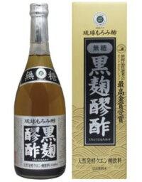 【ヘリオス酒造】黒麹醪酢 無糖(720ml×5本セット)【送料無料】もろみ酢