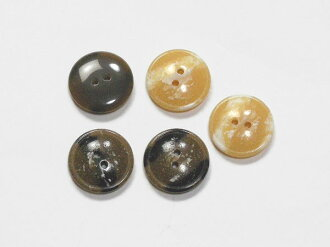 大理石圖案樹脂紐扣狀時裝 & 肌肉線 btp50311 18 毫米 5 件套 (米色,柯克 · 布勞恩)